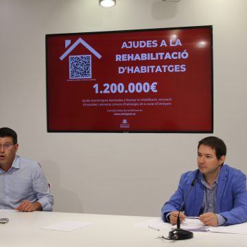 Ontinyent concedeix 1'2 milions d'euros en ajudes a la rehabilitació i adaptació d'edificis i locals
