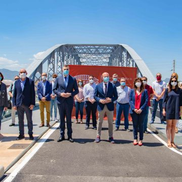 Cullera recupera l'aspecte original del Pont de Ferro i l'adapta a la mobilitat del S.XXI