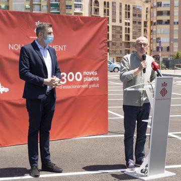 Cullera crea la major bossa de places d'aparcaments pròxima al centre de la ciutat