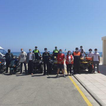 Es presenta el dispositiu de Salvament i Socorrisme de les platges d'Oliva 2020
