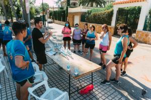 La Font d'En Carròs celebra la iniciativa «Quilòmetres Solidaris»