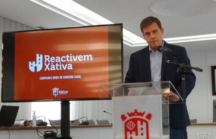 L'Ajuntament de Xàtiva invertirà un milió d'euros en ajudes directes per als autònoms, comerços i pimes