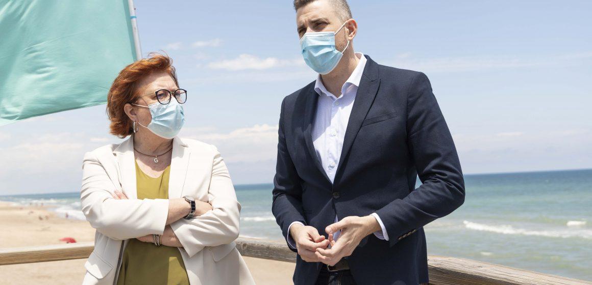 El Govern ultima la regeneració de les platges de Cullera afectades pel Glòria
