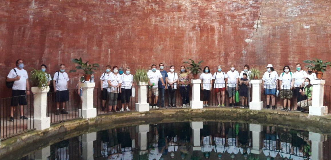 Els i les participants dels Itineraris d'Inserció Soci-Laboral gaudeixen d'una ruta al Molinar