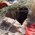 Rescaten a un home que havia caigut en un pou de 12 metres a Benifairó de la Valldigna