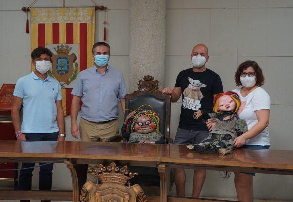 Albaida inicia els treballs de restauració de la Bruja Avería i els Electroduendes