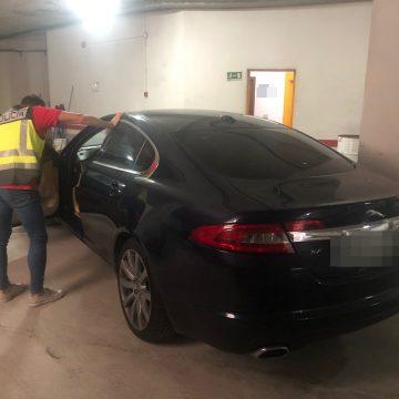 La Policia Nacional deté un jove després de robar un cotxe d'alta gamma