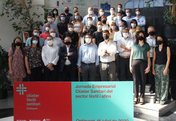 El Clúster Tèxtil d'Ontinyent aglutina ja a 46 empreses per a la producció de material sanitari