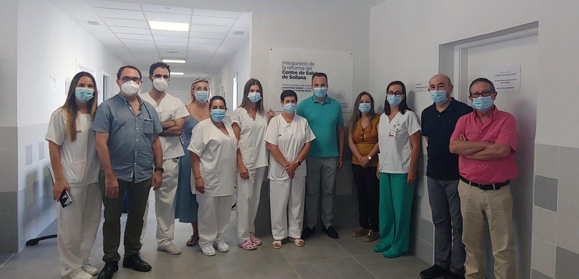 La Ribera inaugura en Sollana la reforma del seu Consultori que atén a 4.600 usuaris