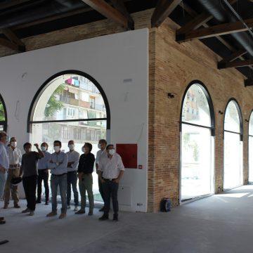 L'edifici principal del Museu del Textil de la Comunitat Valenciana a Ontinyent estarà a punt aquest mes de juliol