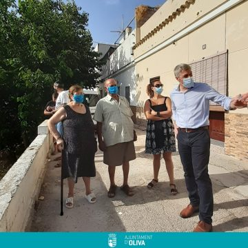 Comencen les obres de la 2a fase de milllora de l'entorn urbà de l'Escoleta El Caragol d'Oliva
