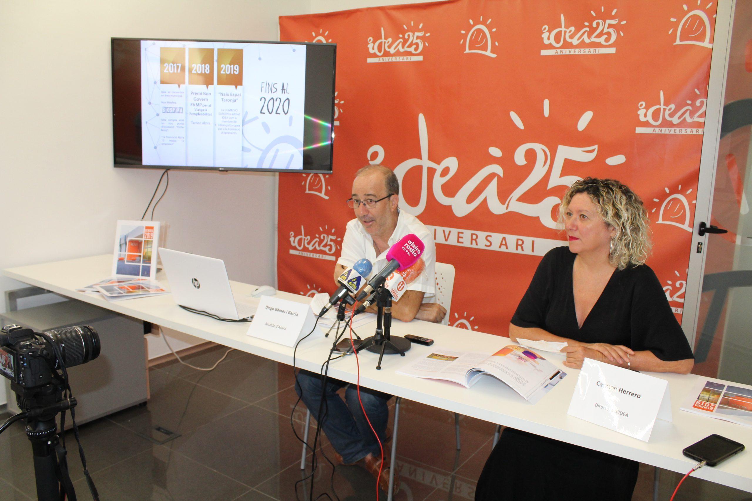 IDEA Alzira dóna a conéixer el seu balanç anual amb unes xifres de récord