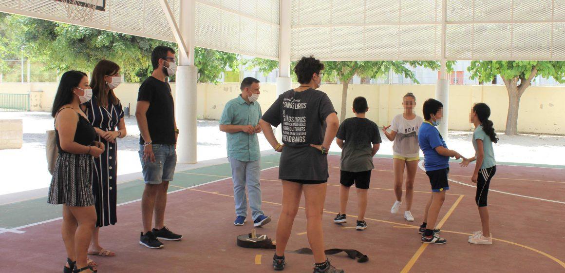 La Generalitat subvenciona amb 67.000 euros el projecte d'Ontinyent per organitzar activitats de suport educatiu i extraescolars