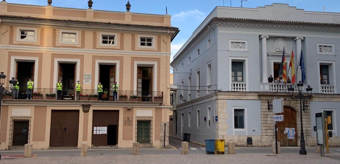 """Carcaixent posa en marxa una iniciativa ciutadana per """"arxivar"""" la COVID-19"""