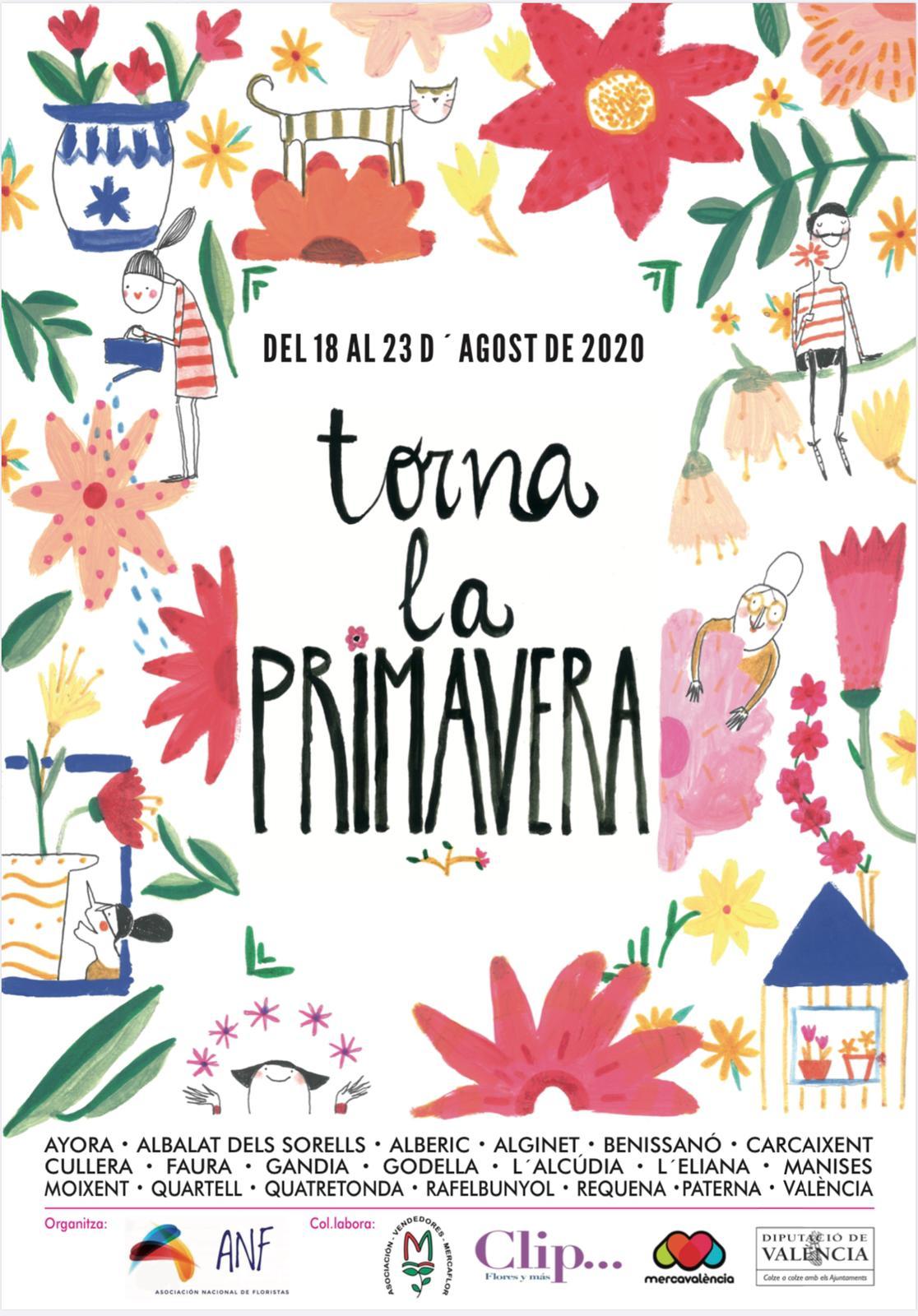 Gandia, Cullera i Carcaixent són alguns dels municipis que «recuperaran la primavera» del 18 al 23 d'agost