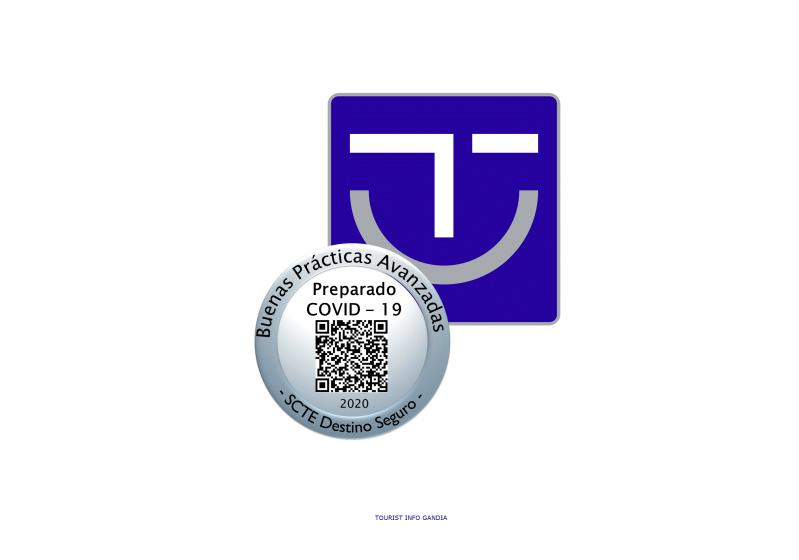 Gandia obté entre els seus distingits en SICTED 42 certificats d'empreses amb el segell 'Preparats enfront de la COVID-19'