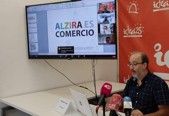 L'Ajuntament d'Alzira posa en marxa una plataforma de venda en línia per al comerç local