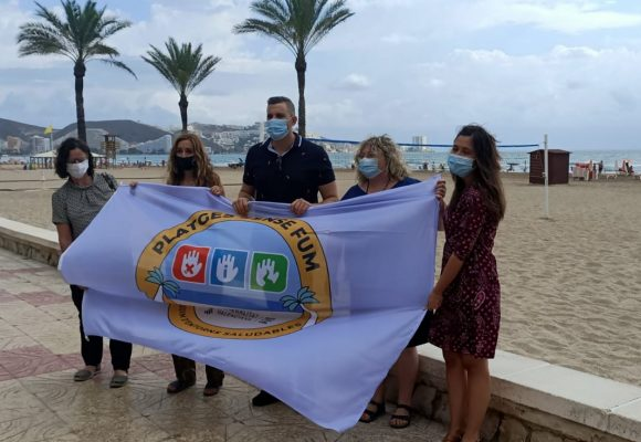 Cullera declara totes les seues platges lliures de fum