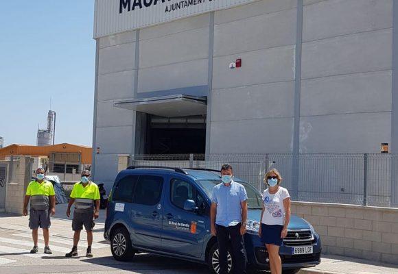 L'Ajuntament del Real de Gandia augmenta el parc mòbil municipal amb un vehicle elèctric