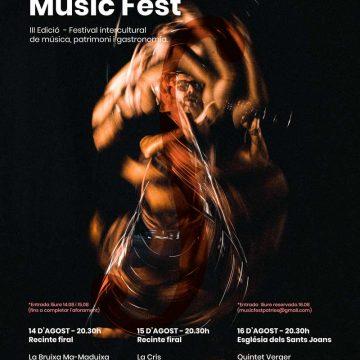 El MusicFest de Potries arriba este cap de setmana amb un cartell que consolida la seua aposta per la música intercultural