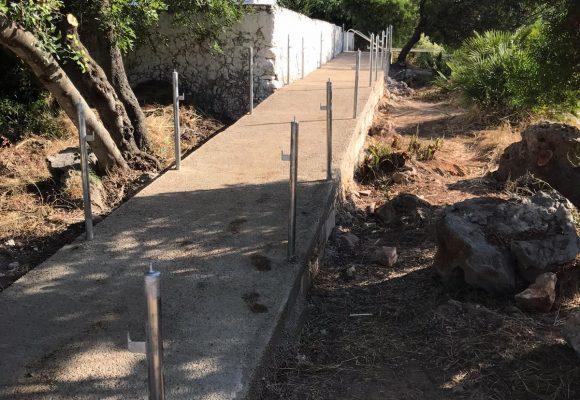 Finalitzen a Simat de la Valldigna les obres d'accessibilitat a l'ermita del Pla de Corrals