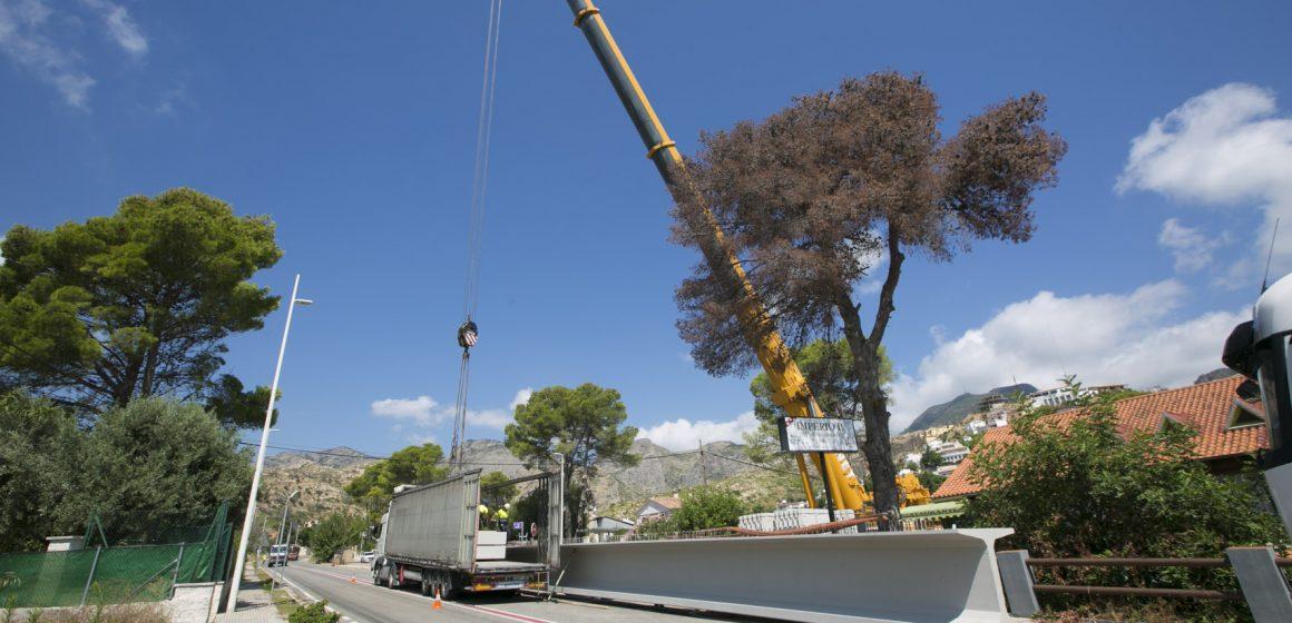 Les obres del pont de Montepino avancen a bon ritme