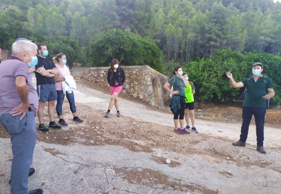 Èxit de participació en la ruta guiada a Les Foies de Simat