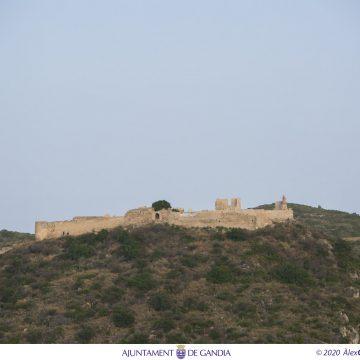 Gandia redactarà el Pla especial de protecció del castell de Bairén amb una subvenció de la Generalitat