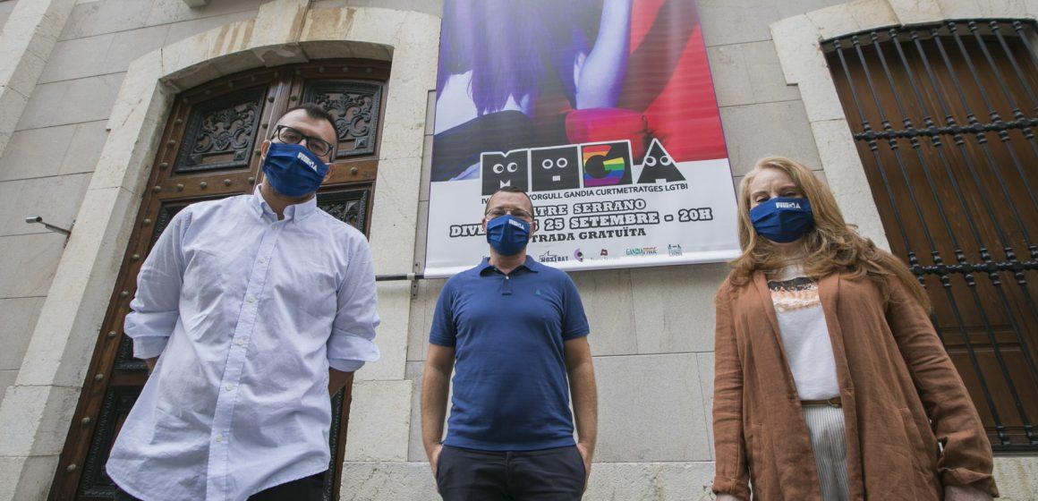 La MOGA 2020, la Mostra d'Orgull Gandia curmetratges lgtbi, inaugura la temporada del Teatre Serrano