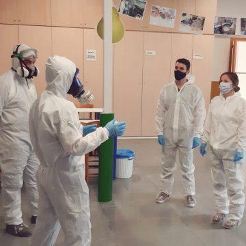 L'Ajuntament d'Oliva desinfecta les escoletes municipals abans de l'inici del curs escolar