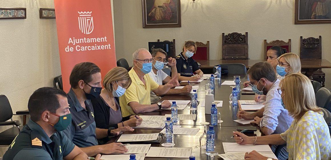 La Junta Local de Seguretat  renova el protocol de VioGen en la lluita contra la violència de gènere a Carcaixent