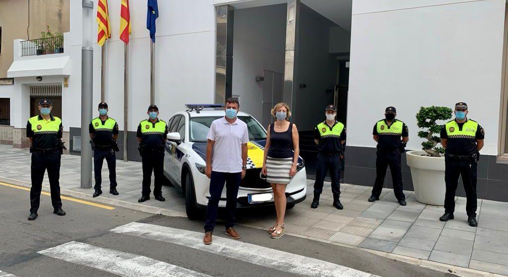 La Policia Local de Real de Gandia estrena nou vehicle