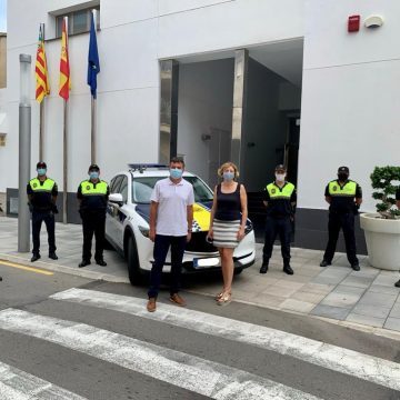La Policia Local de Real de Gandia estrena nou vehicle