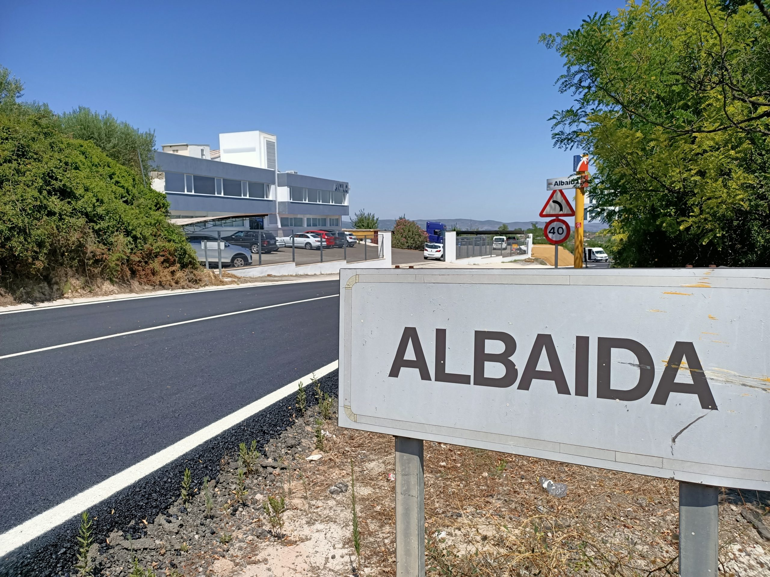 Albaida assumeix finalment dos quilòmetres de la N-340
