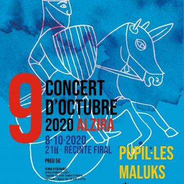 Pupil·les i Maluks, al Concert del 8 d'octubre a Alzira