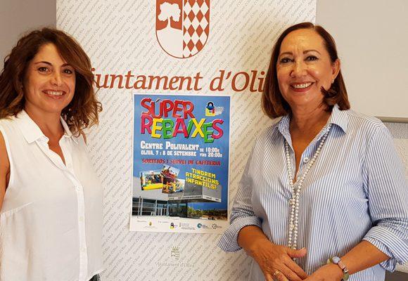 El Polivalent d'Oliva acollirà els dies 12 i 13 de setembre la Fira de les Súper Rebaixes de l'Associació de Comerciants d'Oliva