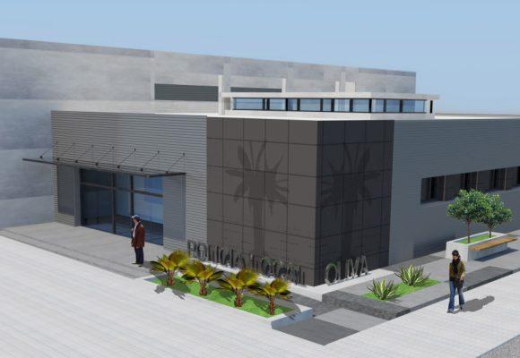 Oliva finalitzarà l'Edifici de Policia Local i Seguretat Ciutadana amb l'ajuda del Pla d'Inversions 2020-2021 de la Diputació de València
