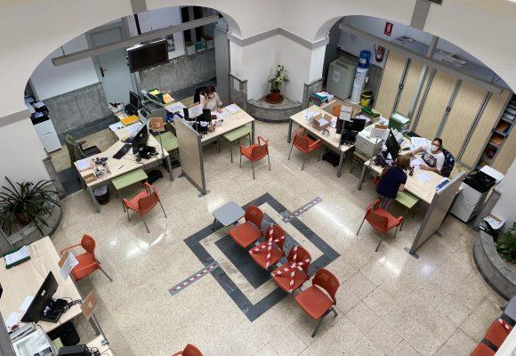 Carcaixent contracta a set persones a través del programa ECOVID