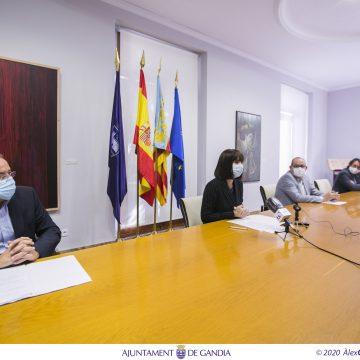Gandia inverteix 1,5 milions d'euros en la reforma de vials de la platja per a millorar com a destinació turística