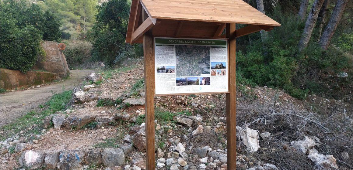 L'Ajuntament de Benifairó renova la senyalització dels senders