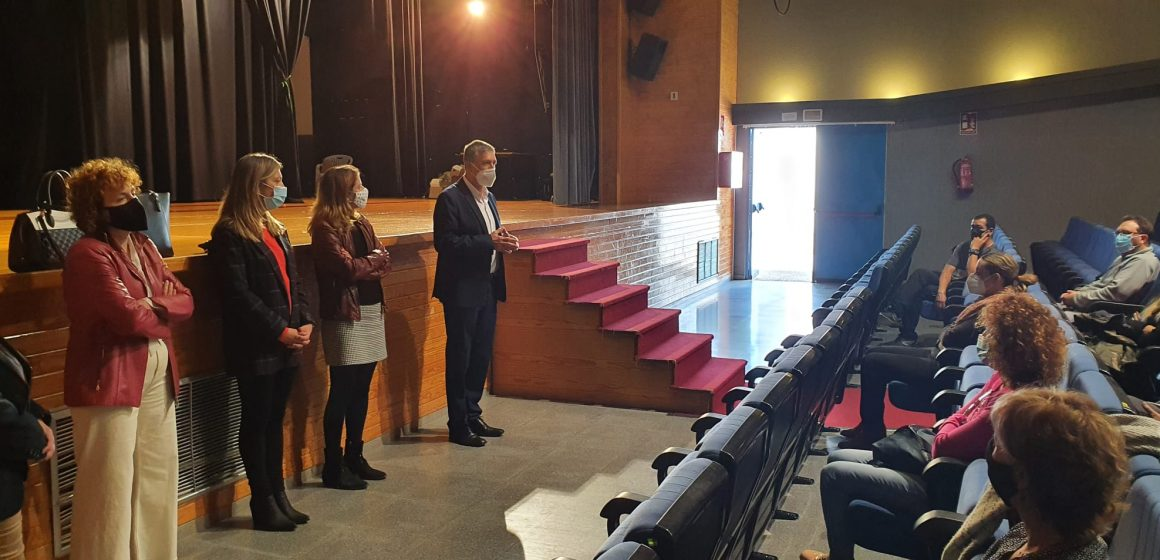 El conseller Rafa Climent visita Xeresa