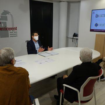 Jorge Rodríguez presenta als veïns de Sant Josep les obres que invertiran 289.000 euros en reurbanitzar el carrer Salvador Tormo