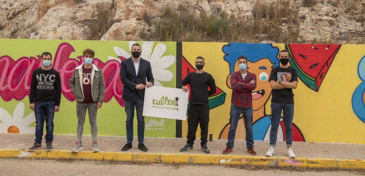 Cullera transforma espais urbans en un museu d'art a l'aire lliure