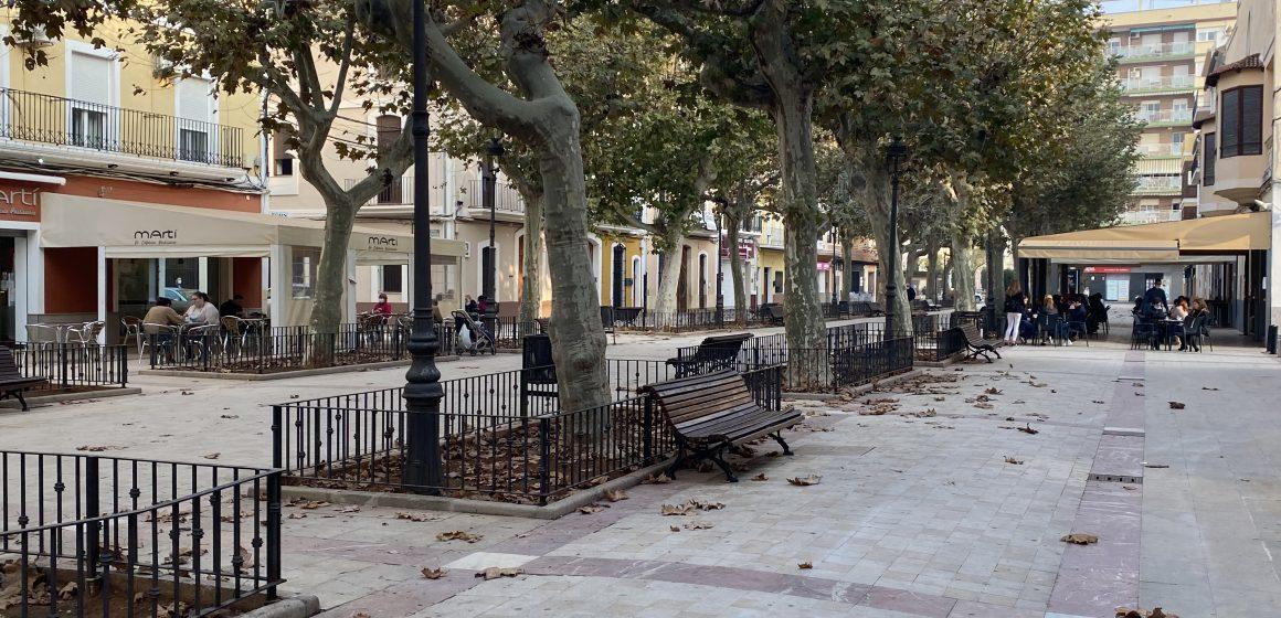 L'Ajuntament de Carcaixent  prorroga la suspensió de la taxa d'ocupació de la via pública  amb taules i cadires per a 2021