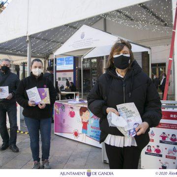 L'Ajuntament de Gandia reforça la seua campanya de prevenció de la Covid-19 per a les festes