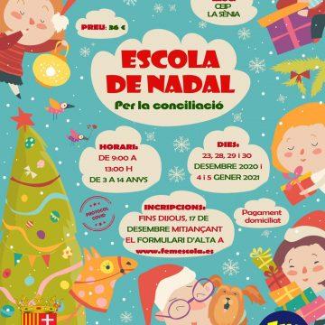 L'Alcúdia de Crespins organitza una edició més l'Escola de Nadal al CEIP La Sénia