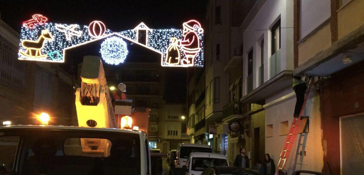 Carcaixent encén hui les llums de Nadal