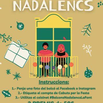 La Font d'En Carròs organitza un concurs de decoració de balcons
