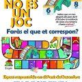 La Ribera posa en marxa una campanya de conscienciació contra el coronavirus davant el pont de desembre