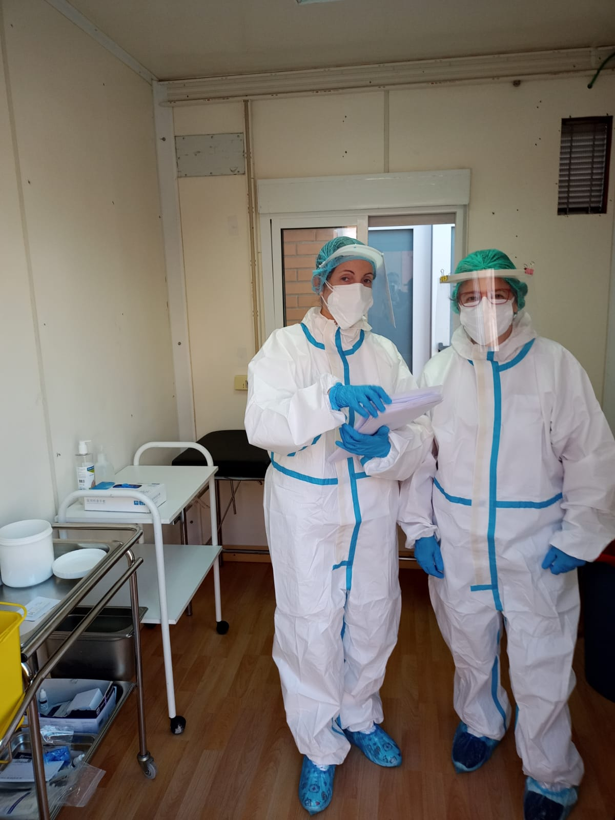 L'Alcúdia de Crespins ubica un mòdul adjunt al Centre de Salut per a realitzar les proves PCR